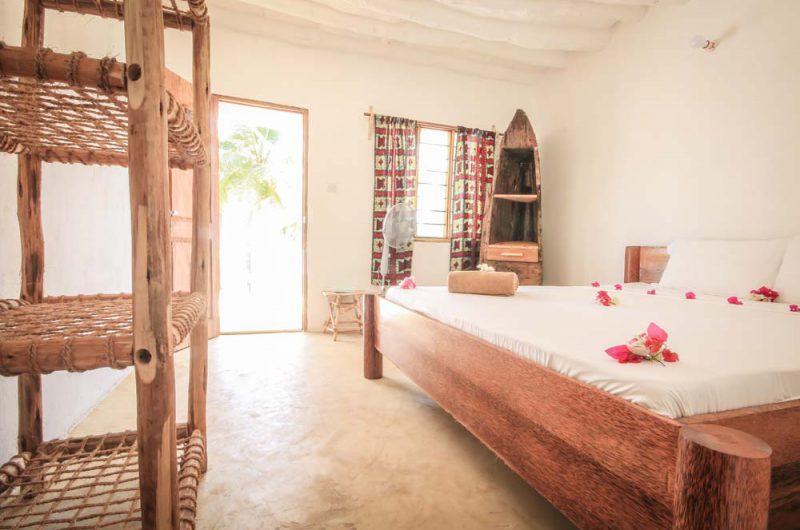 bungalow sulla spiaggia a Zanzibar